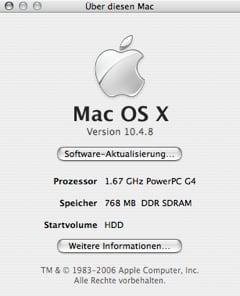 Mac OS X 10.4.8