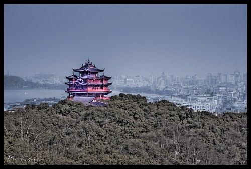 Hangzhou RGB HDR Pagoda