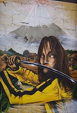 Kill Bill Graffiti