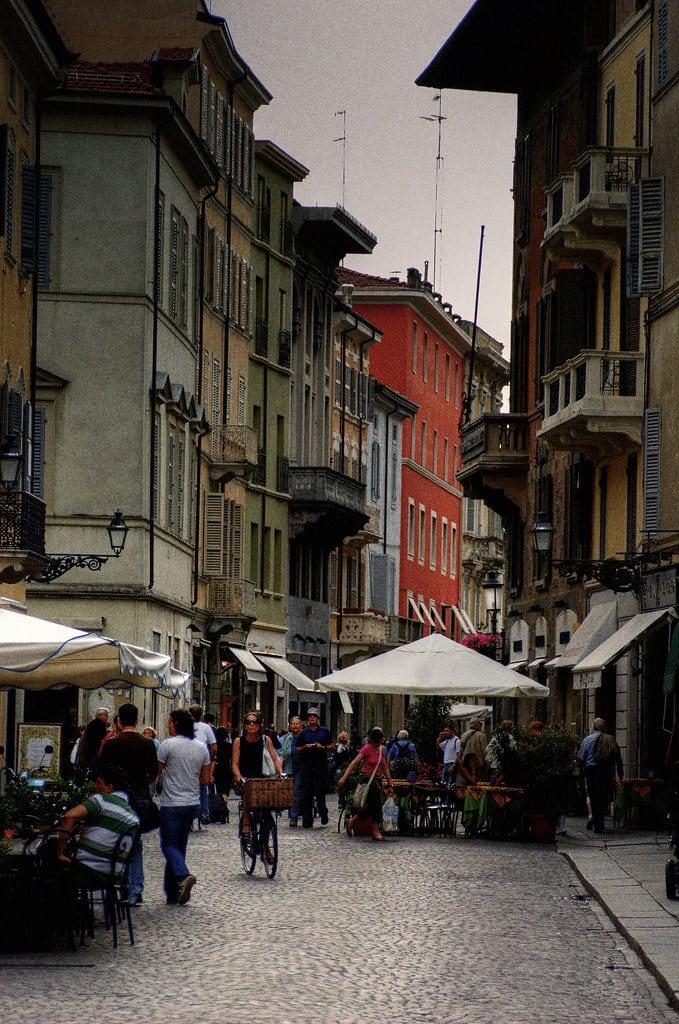 Parma: Strada del Cafe.